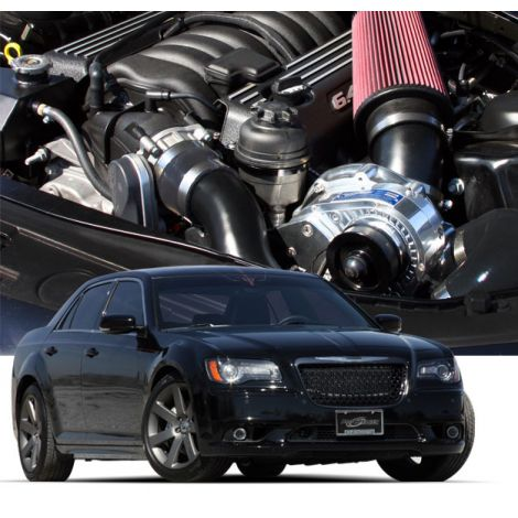 2014-11 CHRYSLER 300C HEMI (5.7) ProCharger HO Intercooled System with P-1SC-1