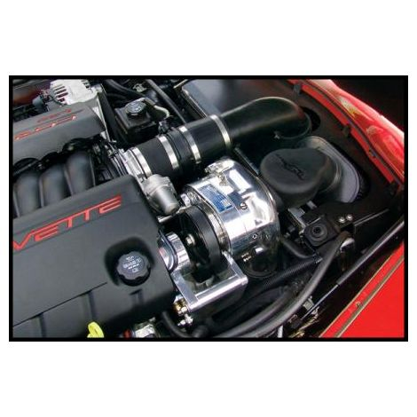 2013 - 08 Corvette C6 (LS3) P1SC ProCharger Stage II Intercooled System