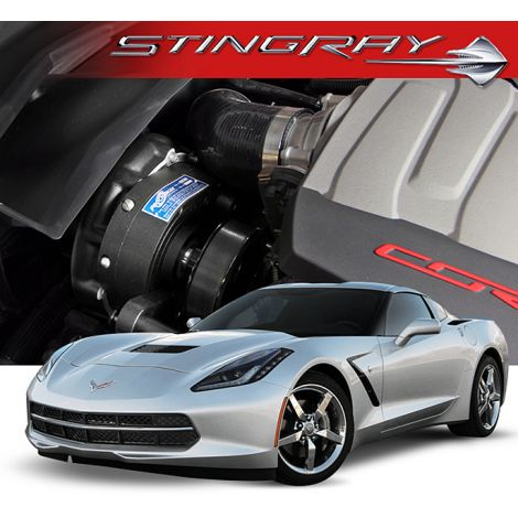 2017-14 Corvette C7 Stingray (LT1) Procharger i-1 HO Intercooled System