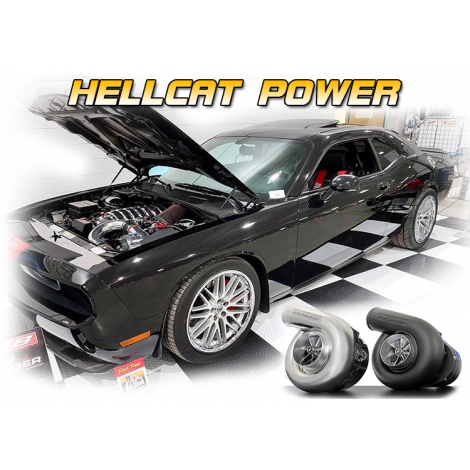 2014-11 Challenger (6.4) ProCharger HO Intercooled System with P-1SC-1