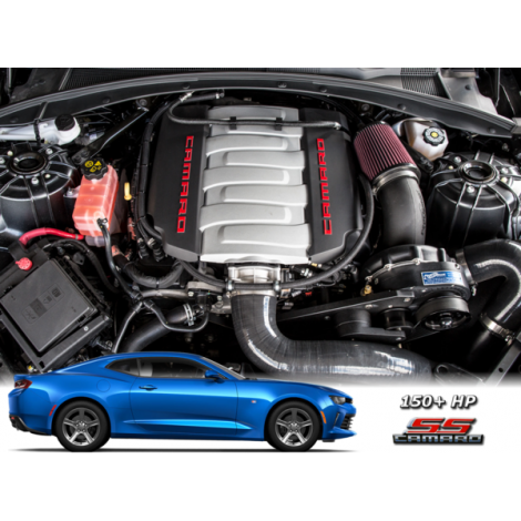 2019 - 16 Camaro SS LT1 ProCharger Stage II Intercooled Kit with P-1SC-1