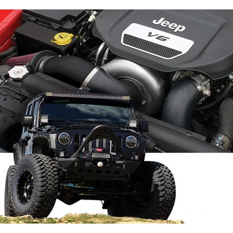 2019-18 Jeep Wrangler JL (3.6) HO Intercooled System with P-1SC-1