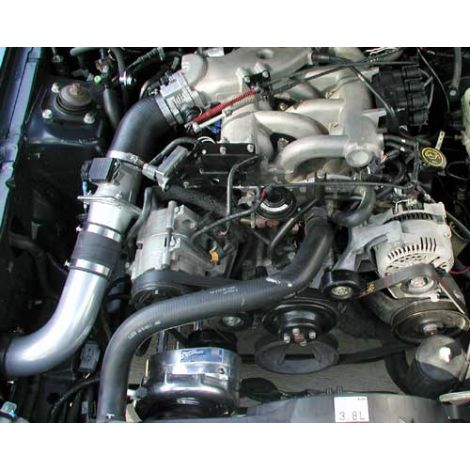 2003-99 Mustang (V6) ProCharger Stage II Intercooled System with P-1SC