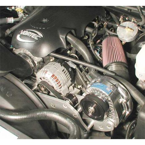 High Output Intercooled System P-1SC for 99-03 GM 6.0