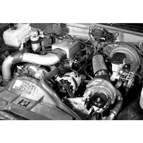 1995-88 GM TBI (7.4 no air pump) ProCharger HO Intercooled System with P-1SC
