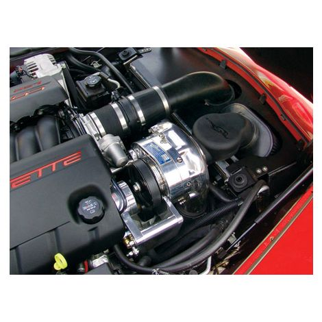 2007 - 05 Corvette C6 (LS2) P-1SC ProCharger HO Intercooled System