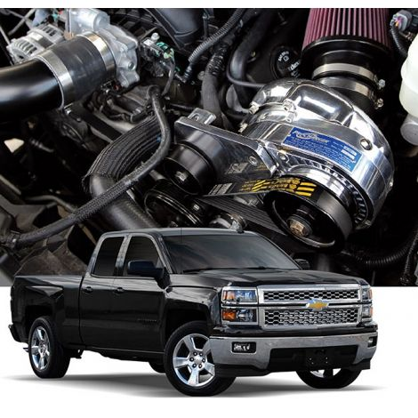 2018-14 GM 1500 Truck/SUV (6.2) ProCharger HO Intercooled System with P-1SC-1