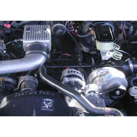 1995-88 GM TBI (5.7 no air pump) ProCharger HO Intercooled System with P-1SC